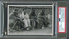 1936 Reemstma Card #34 JESSE OWENS Ohio State BUCKEYES Berlin OLYMPICS PSA 7.5