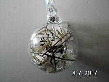 3 x Christbaumkugeln mit Eule Elch Fuchs Baumschmuck aus Glas Kugel Weihnachten