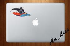 Macbook Air Pro Skin Sticker Decal - Super hero flying funny  #CMAC039