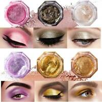 Glitter Shimmer Metallic Eyeshadow Palette Pigment Shiny Lasting Eye Shadow