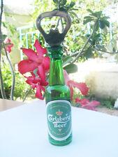 Carlsberg Beer 3D Miniature Fridge Magnet Bottle Opener Cute Limited Edition