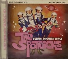 THE SPOTNICKS 'Surfin' In Outer Space - 35 instrumental tracks on Jasmine