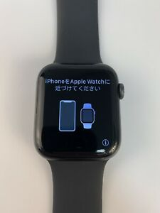 Apple Watch Series 5 44mm (GPS) Space Gray Case Black Band Smartwatch
