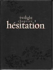 COFFRET 2 DVD COLLECTOR--TWILIGHT CHAPITRE 3 - HESITATION--PATTINSON/STEWART