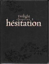 COFFRET 2 DVD COLLECTOR--TWILIGHT CHAPITRE 3 - HESITATION--PATTINSON/STEWART