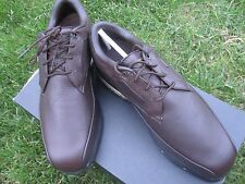 Nike Tour Premium Teaching Brown Size 9 Golf Shoes New With Box