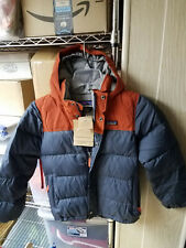 Patagonia kids boys Down Bivy Hoody jacket Size S ( 7- 8 )  Brand New with Tags