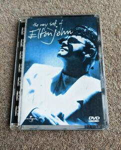 ELTON JOHN The Very Best Of Region Free UK Release DVD