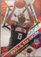 2019-20 Panini Prizm JAMES HARDEN Silver Will To Win #20
