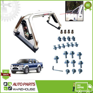 Fit Mitsubishi L200 2005 - 2015 Stainless Steel Sports accessories Roll Bar ch