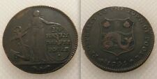 Collectable Prosperity The Town Of Poole /James Bayly Drapes Token /Dorset 1795