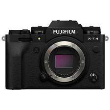 Fujifilm X-T4 Mirrorless 26.1MP 4K Fuji X T4 Digital Camera Body Black