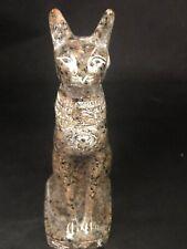 Rare Large Ancient Egyptian  Brown Granite Cat 2800 BC -2750 BC
