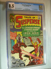 Tales of Suspense #52 CGC 8.5 OW/W 1st app of the Black Widow WOW