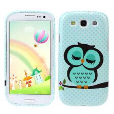 Wholesale Cute Owl Design Soft TPU Case Cover for Samsung Galaxy S3 III i9300