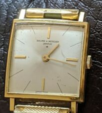 Classic Baume & Mercier 18k Yellow Gold  Vintage  Hand-Winding 1050 Watch