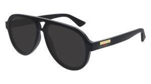 Gucci Sunglasses GG0767S  001 Black, gray Man original