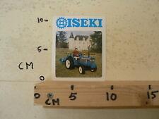 STICKER,DECAL ISEKI TE4270 TRACTOR TREKKER A