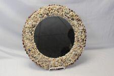 """Florida Seashell Mirror Round 14"""" x 14"""" Round Handmade"""