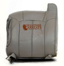 1999 Chevy Silverado -Driver Side LEAN BACK Replacement Leather Seat Cover GRAY