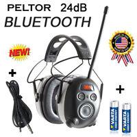 PELTOR 24dB BLUETOOTH Digital Radio Gehörschutz Kopfhörer