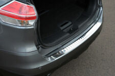 For Nissan X-Trail (2014+) - Chrome Rear Bumper Protector Scratch Guard S.Steel