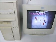 TORRE PC MMX 200mhz, 64MB, 3GB HD, CD, SB16, S3 Virge, Msdos 6.22 - WORKING OK