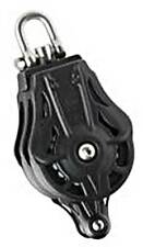 """WICHARD Ball Bearing Block """"70"""" Double with Swivel and Becket"""