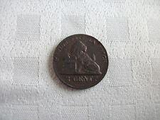 Leopold I - 2 centiem 1864/1 overslag in prachtige staat