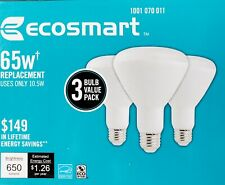 BR 30 LED lamp/10 year warranty/ 3-Pack/ Dimable/ 27K/ soft white