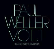 PAUL WELLER CLASSIC ALBUM SELECTION VOL.1 COFANETTO 5 CD DELUXE EDITION  NUOVO