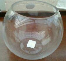 """10x Quality BUBBLE / pesce Bowl Fishbowl VASO 8 """" / 20cm CENTRI TAVOLA prezzo ridotto"""