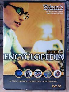 Webster Millennium 2004 Dvd Encyclopedia