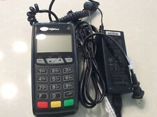 ingenico ict220 credit card terminal with charger
