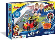 Clementoni Topolino Code My Race Gioco Educativo Per Bambini da 4 Anni 12086