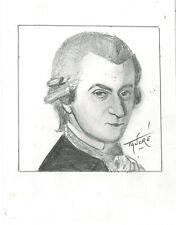 Portrait original de Wolgang MOZART
