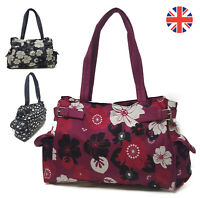 Ryanair Womens Ladies Hearts Floral Print Travel Flight Gym Shoulder Sports Bag