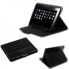 Tasche f. Weltbild Tablet PC 4 (8.0 Zoll) Hülle Case Schutz Leder-Optik schwarz