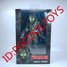 """NECA Predator - 7"""" Scale Action Figure - 30th Anniversary Jungle Demon Predator"""