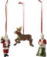 Villeroy & Boch North Pole Express 3PC Train Decor Nostalgic Christmas Ornaments