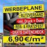 LKW Plane PVC Plane Banner Werbeplakat Digitaldruck Werbebanner Werbeplane 550g