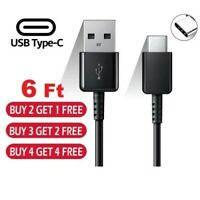 OEM 6FT USB C Type-C Cable Fast Charger Type C Data Sync Charging Cable Cord