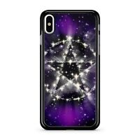 Twinkling Space Star Purple Milky Way Cosmic Galaxy Sky 2D Phone Case Cover