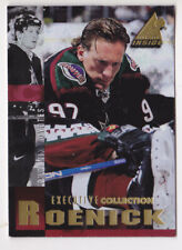 97-98 Pinnacle Inside Jeremy Roenick EXECUTIVE COLLECTION Coyotes 1997
