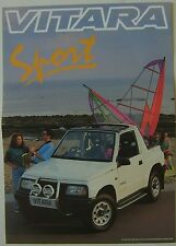 SUZUKI VITARA 1.6 SPORT 1993 ORIGINALE UK SALES BROCHURE