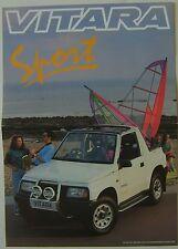 Suzuki Vitara 1.6 Sport 1993 Original UK Sales Brochure