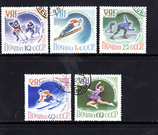 RUSSIA #2300-2304  1960  OLYMPICS  SQUAW VALLEY   MINT VF LH  CTO