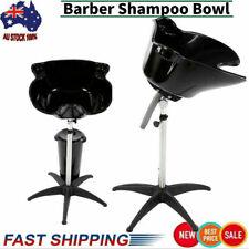 Portable Mobile Salon Hair Washing Basin Hairdressing Bowl Drain Shampoo Sink AU