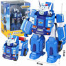 UK Paul Deformation Robot Action Figures Super Wing Transformation Toys Gift Kid