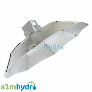 Large Parabolic Shade Grow Light Reflector Silver Shade Hydroponics